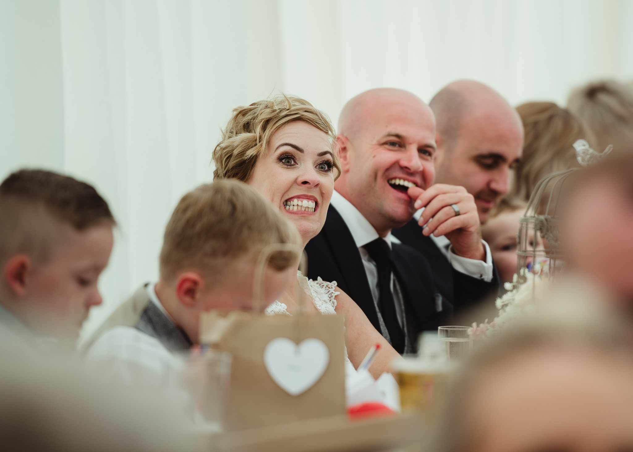 brides reaction to speech